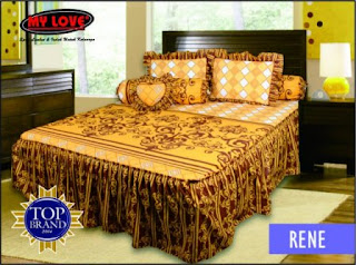 sprei rumbai my love rene