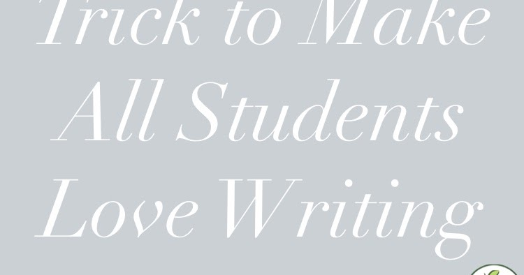 AppleSlices: One Simple Trick to Make All Students Love Writing