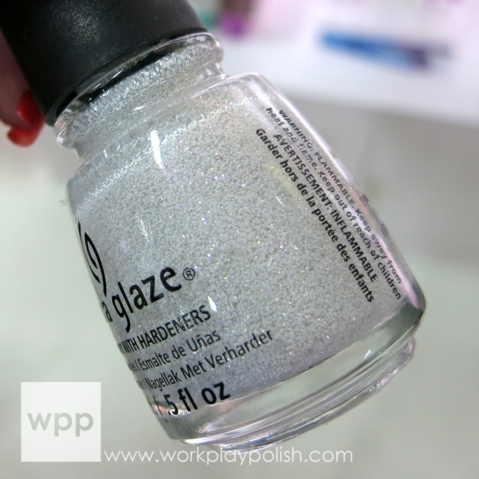 China Glaze The Outer Edge from The Giver Collection