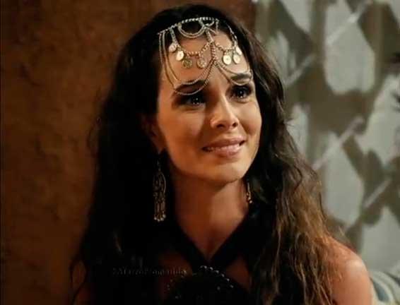 Raabe (Mirian Freeland) A Terra prometida novela, tiara ou enfeite cabelo