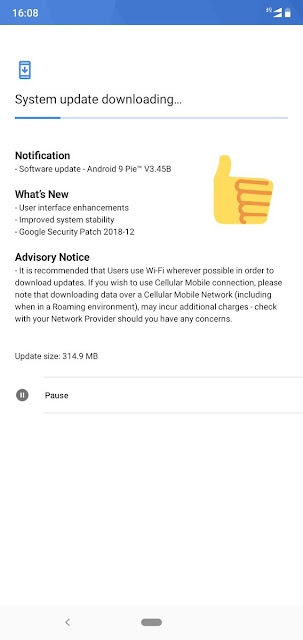 Nokia 6.1 plus December 2018 Android Security Patch