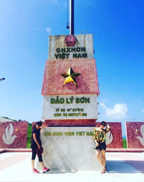 Cột cờ tại Đảo Lý Sơn