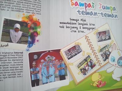 buku tahunan untuk siswa dan mahasiswa