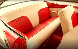 1957 Ford Fairlane Coupe Rear Seats