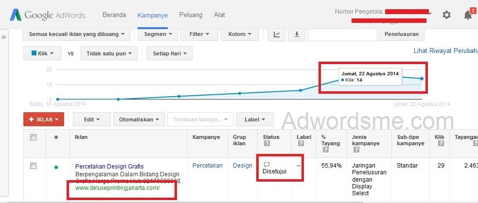 iklan google adwords dilepas penangguhan