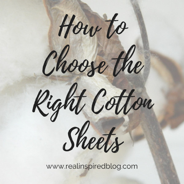 How to choose the right cotton sheets