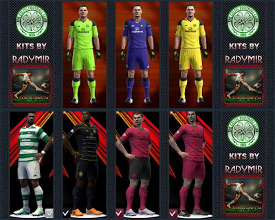 Celtic F.C. kits 16-17