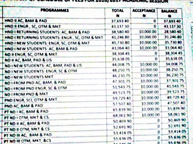 Akanu Ibiam School Fees Schedule For 2016-2017 Session
