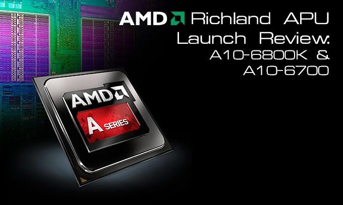 AMD Siapkan APU Richland Murah Di Pasaran