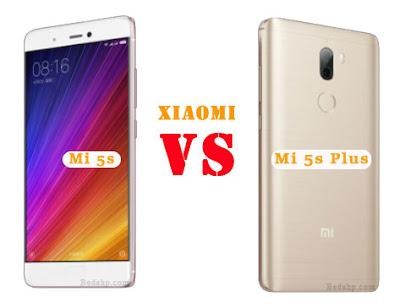 Perbedaan Xiaomi Mi 5s dan Mi 5s Plus