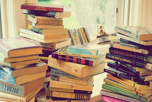 arrumando livros