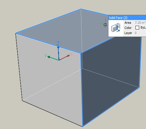 Bricscad Shape : Cara select pada obyek