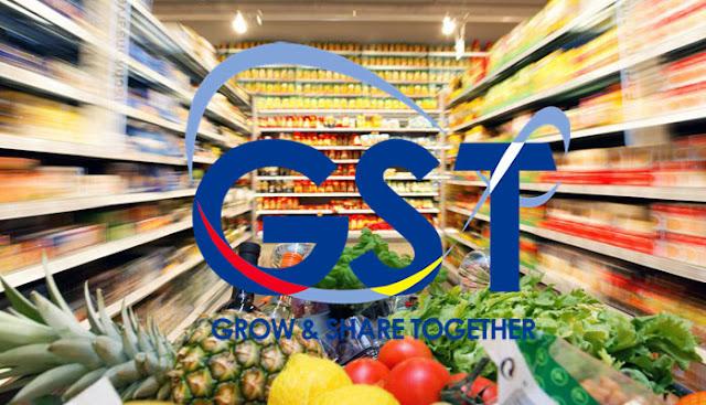 Lebih 60 barangan makanan akan di kenakan GST bermula julai