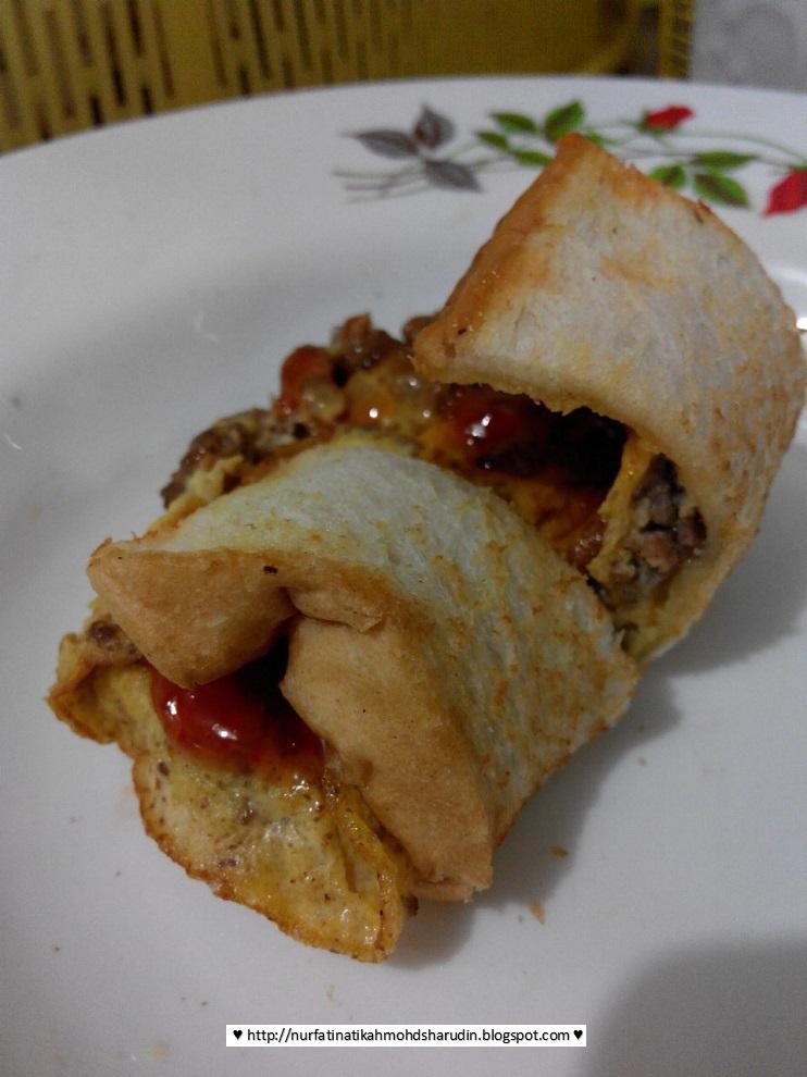 Resepi roti john mudah | Nurfatin Atikah