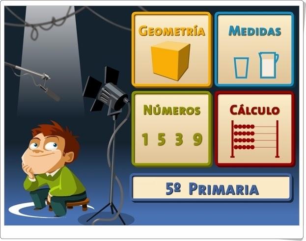 """""""Juegos, Números… ¡Acción!"""". 5º de Primaria."""