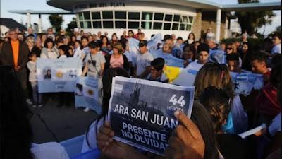 Los últimos avances en la búsqueda del ARA San Juan