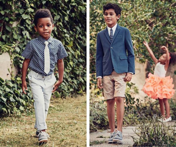 moda niños pantalón y americana para eventos H&M primavera verano