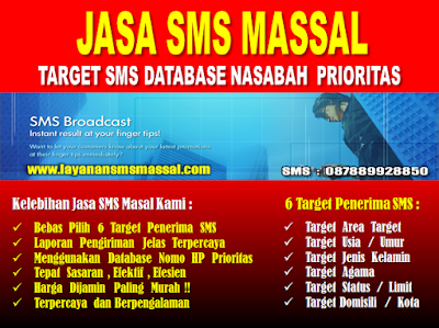 www.jualdatanomorhp.com - Layanan Jasa SMS Massal