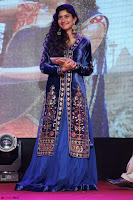 Beautiful Cute Sai Pallavi in dark Blue dress at Fidaa music launch  Exclusive Celebrities galleries 024.JPG