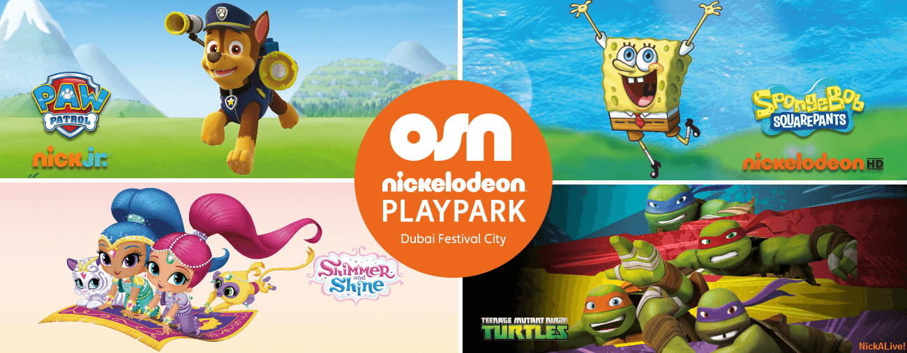 NickALive!: Nickelodeon Arabia And OSN Host First-Ever Nickelodeon