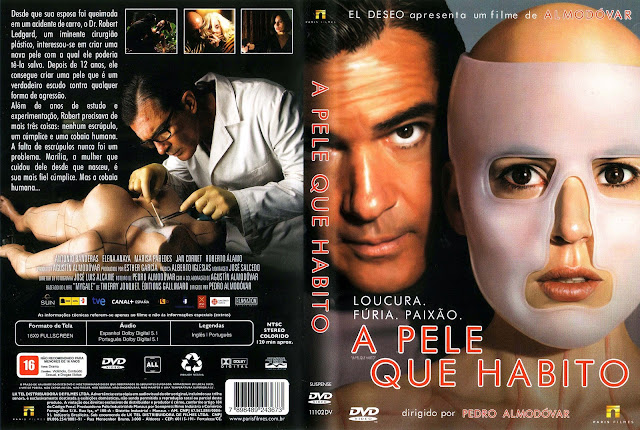 Capa DVD A Pele Que Habito