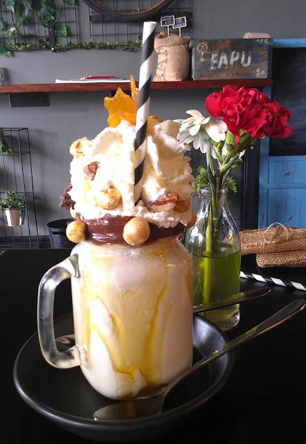 Black Seed Cafe, Werribee, milkshake