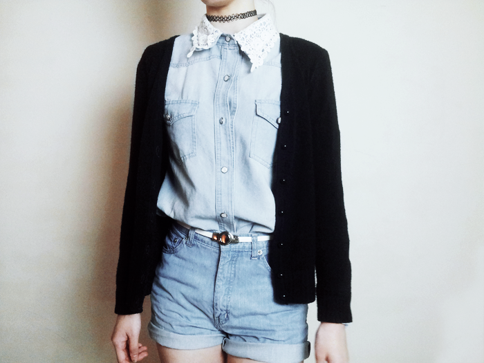 Brunei Blogger May Cho of The Mayden in double denim