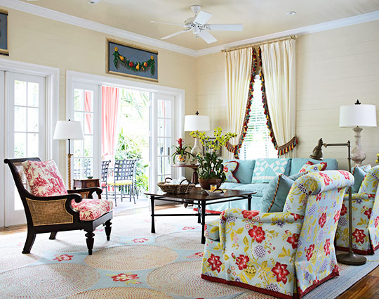 Key West Style Home Decor: New Home Interior Design: Key West Vacation Home