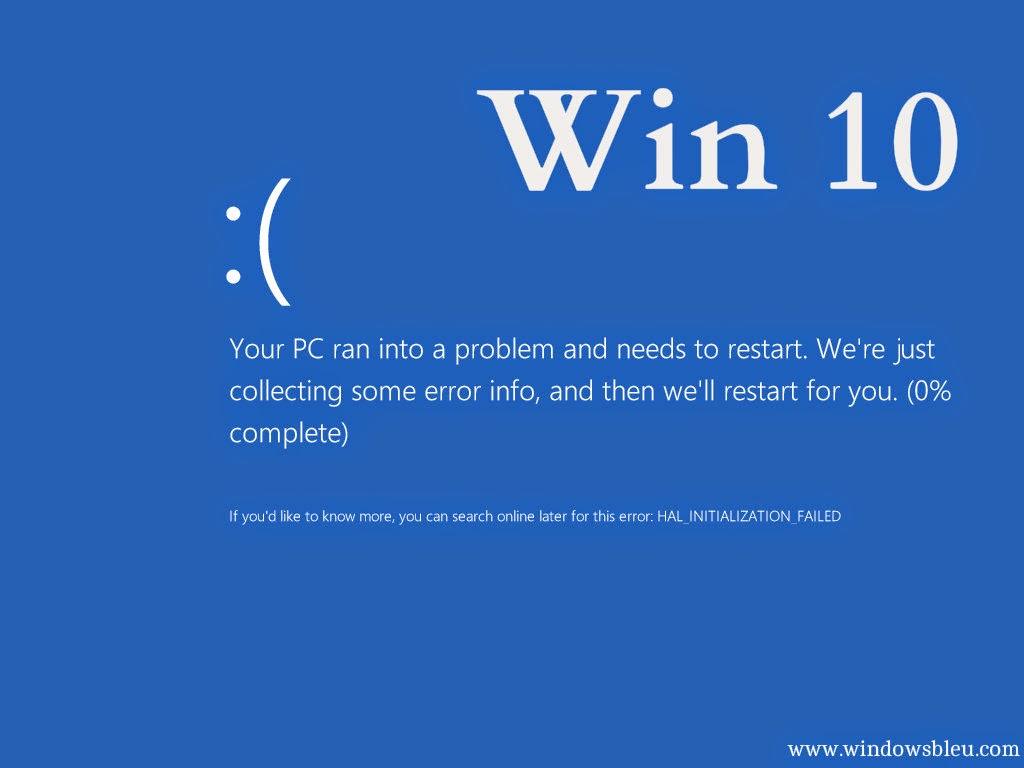 Windows 10 Blue Screen Of Death How To Skip It Windows