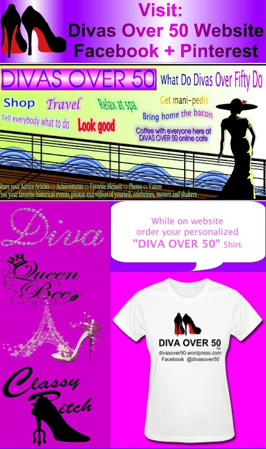 DIVAS OVER 50 - This Website is for You