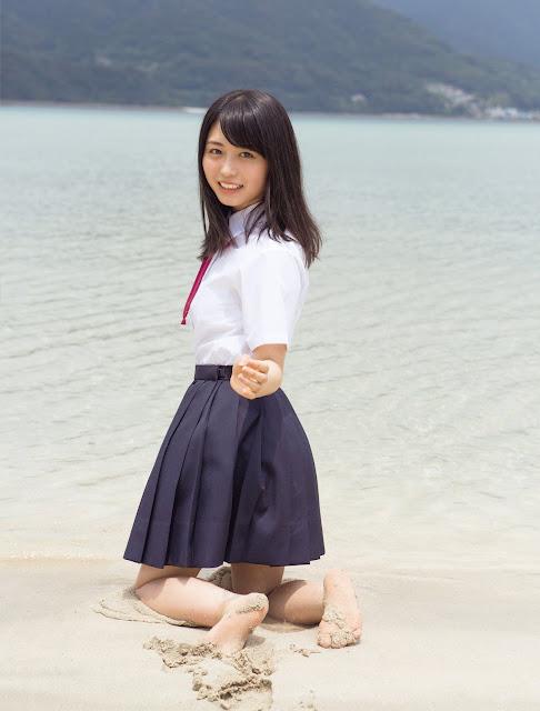Keyakizaka46 Nagahama Neru Gravure Bikini 05