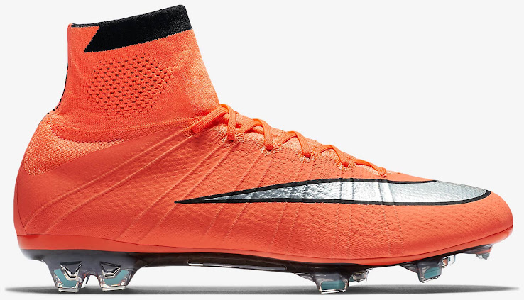 new style 68fac 214f1 Nike Mercurial Superfly Bright Mango   Metallic Silver   Hyper Turquoise