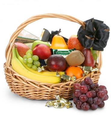 fruit, hamper, fruit hamper, florist