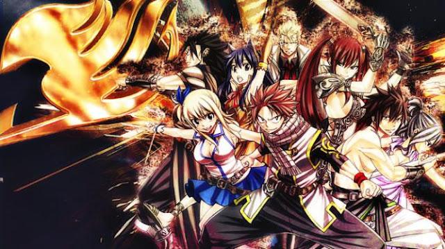 Daftar Film Anime Mirip Fairy Tail