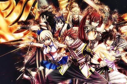 25 Daftar Film Anime Mirip Fairy Tail