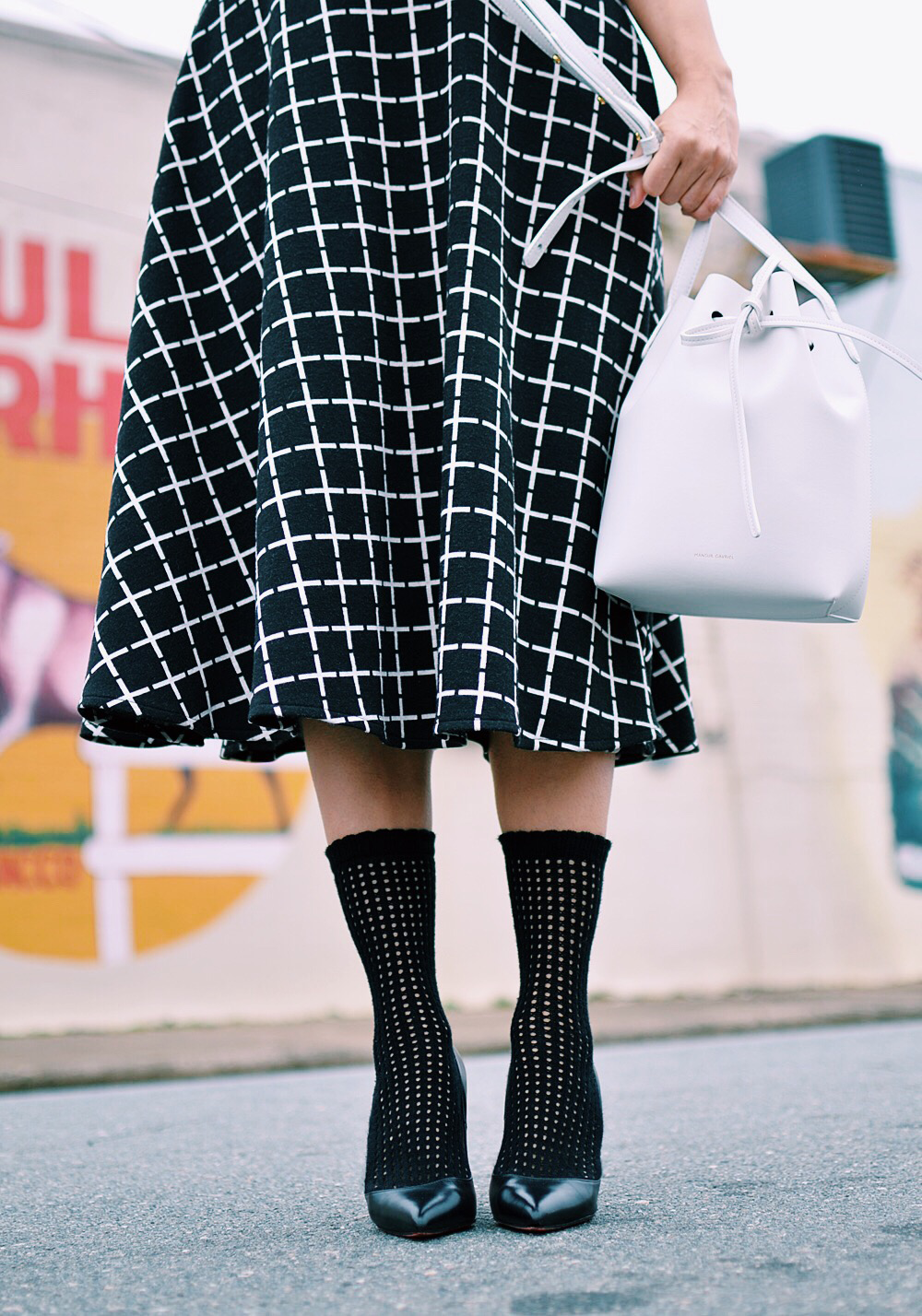Socks with heels street style
