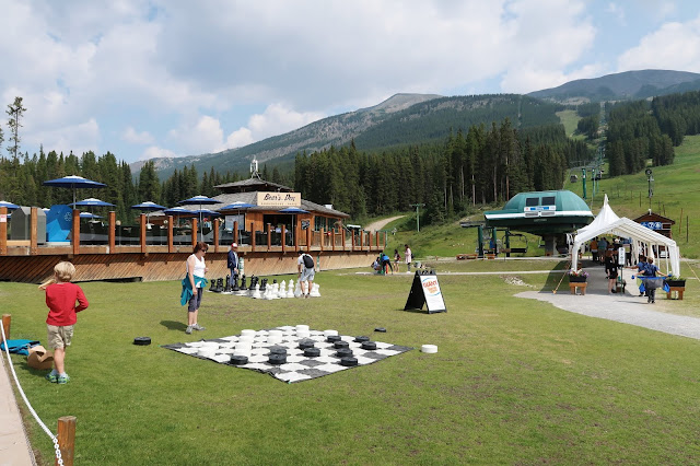 Lake Louise Ski Resort in Summer