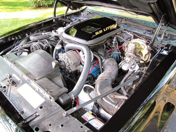 Pontiac Firebird Trans Am Y Bandit Engine
