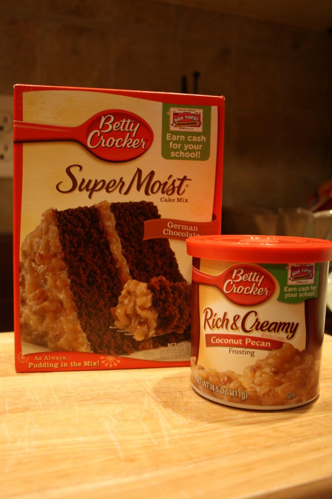 Enhance A German Chocolate Cake Mix