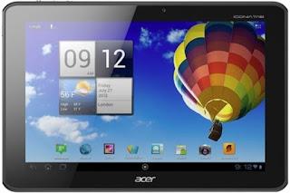 Cara Hard Reset Acer A511 Iconia Tab lupa pola / password
