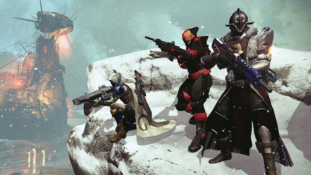 Take a Peek at These New Weapons Coming to Destiny with Rise of Iron