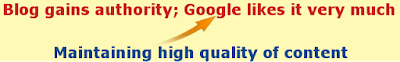 Authority and genuineness is what Google likes the most on websites.