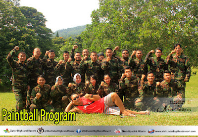 PAKET PAINTBALL CIATER