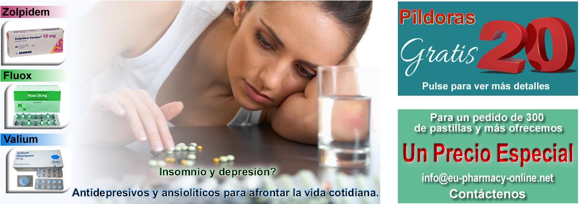 pastillas para la ansiedad y depresion sin receta