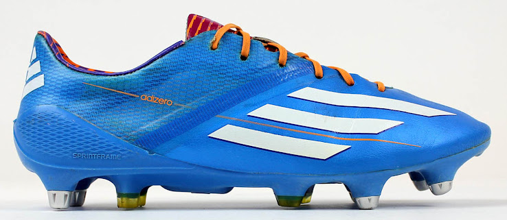 1c5a18294c4 Lionel Messi debuted the yellow Adidas F50 Adizero Cleats in the now famous UEFA  Champions League match against Celtic.