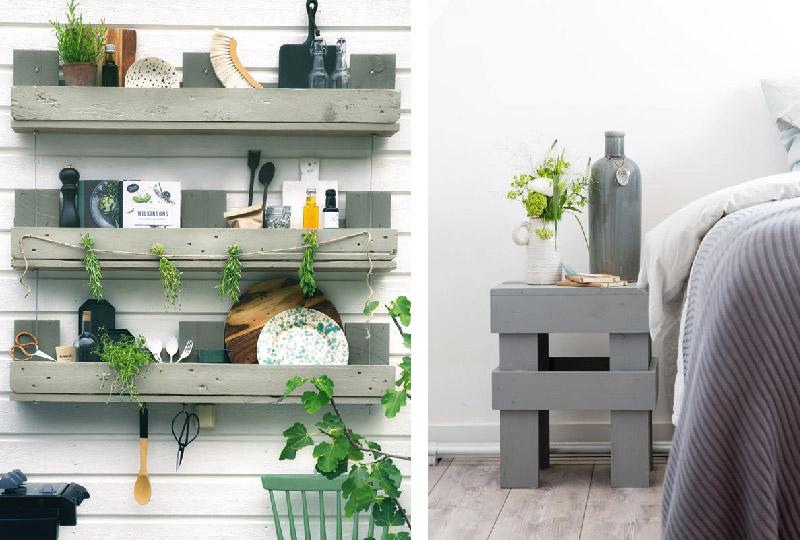 Tante idee per rinnovare casa spedendo poco e sfruttando il fai da te