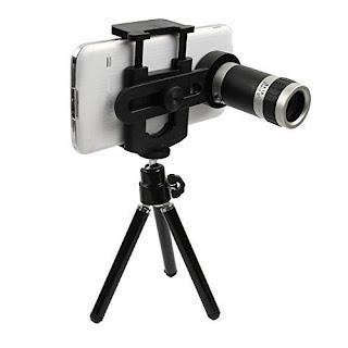 Universal MobileCamera lense with tripod