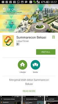 Aplikasi Summarecon Bekasi
