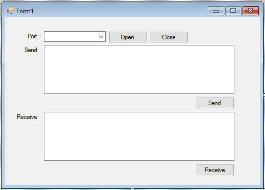 FoxLearn | Windows Forms: Serial Communication in C#