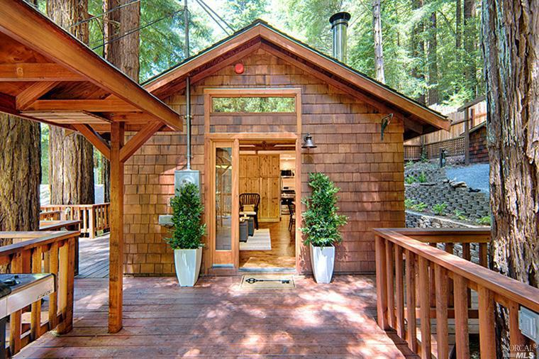 a stunning tiny house in monte rio california - Tiny Houses California